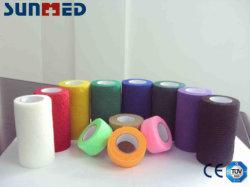 Bandagem descartáveis Non-Woven coeso o algodão
