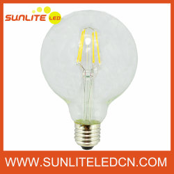 LED Filament Bulb (G95球根、E27、4W-Warm White)