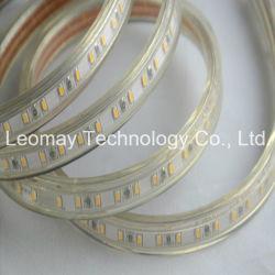 IP68 220v переменного тока высокого напряжения для поверхностного монтажа 3014гибкой полосы светодиодный индикатор полосы