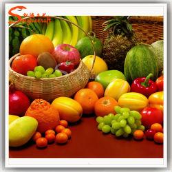 Venda por grosso de fruta artificial OEM para decoração de ornamentação