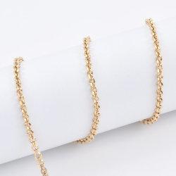 メーカーはカスタマイズされたローズ金めっきステンレススチールの方法 Belcher Rolo を チェーンジュエリーアクセサリー Bangle Bracelet ネックレス用