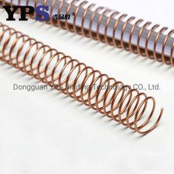YPS는 좋은 가격 로즈 금 금속 단 하나 나선을 도매한다