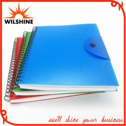 دفتر ملاحظات ذو عنوان حلزوني مخصص مع غلاف PP لهدايا الأعمال (PPN220)