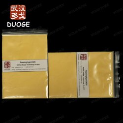 L'agent gonflant Coating Agent auxiliaire ADC/AC/Azodicarbonamide Effet d'expansion de l'agent moussant