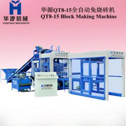 Мониторинг интервала QT8-15 Автоматический блок бумагоделательной машины, производстве кирпича машины, зафиксируйте машину, что делает машину, Бетонное бумагоделательной машины