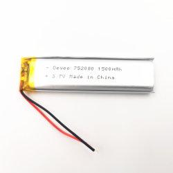 [أم] سعر 752080 عنصر ليثيوم بوليمر بطّاريّة [3.7ف] [1500مه] [ليثيوم بتّري] لأنّ سنة مفتّح لون لعبة جهاز تحكّم