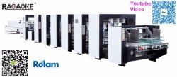 Alimentação automática de embalagens de papel Die Caixa de Corte máquina de colagem de caixa de papelão dobrável (GK-1450PCS)
