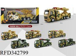 Coches de juguete Juguetes mayorista Tire Coche de juguete de modelo de vehículo militar Set de Regalo para niños