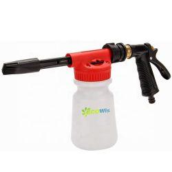 Пистолет для пены для мойки автомобилей опрыскивателя с толстыми раствор регулируемое давление воды и мыла соотношение Dial