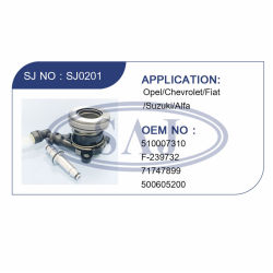 Rolamentos de embraiagem (-239732/71747899 510007310/F/500605200) para a Opel/Chevrolet/Fiat/Suzuki/Alfa