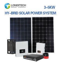 30kw renovable Home Storage 120kw de energía Solar Híbrido Industrial