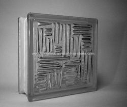 Construction de petits creux du Corridor de briques de verre en cristal décoratif