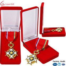 공장 도매 커스텀 카니발 군사 경찰 금속 배지 명예입니다 메달