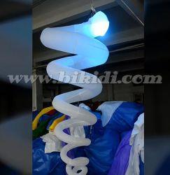 Ballon C2002 der Partei-Dekoration-aufblasbarer hängender gewundener Beleuchtung-LED