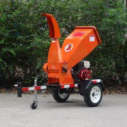 Тяговая13HP на базе бензинового двигателя 85мм отбойные барабан сад измельчитель для продажи