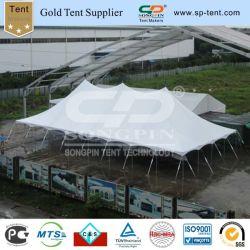 12X24m Qualität Belüftung-Ausdehnungs-Partei-Hall-Festzelt-Stöpsel und Pole-Zelt auf Verkauf