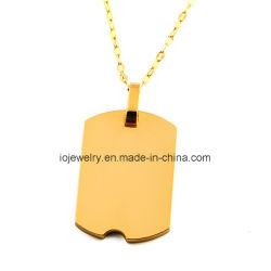 Высокое качество 18K ожерелье с золотым покрытием пульта управления