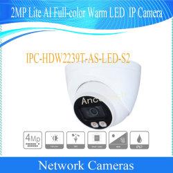 Lite Full-Color Dahua 2MP caméra réseau Fixed-Focal Eyeball Ipc-Hdw2239t-comme-LED-S2