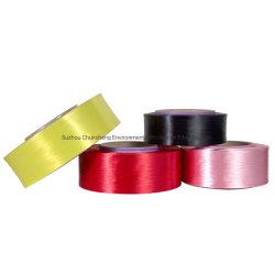 友好的な製造業者ポリエステルドープ塗料によって染められるヤーンEcoファブリックFDYのために直接使用する