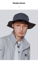 Custom Upf50+ Polyamide Summer Sun Hat, ademende Visor Hat 360° Protective for Man 4