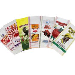 米のための中国5kg 10kg 20kg 25kg 50kg 50lbの100kgsによって印刷される透過PPによって編まれるパッキング袋