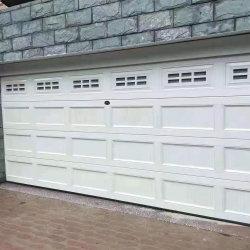 Automático de Control remoto de aluminio seccionales Puertas de garaje en venta