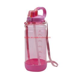 2000ml BPA는 큰 수용량 휴대용 플라스틱 스포츠 물병을 해방한다