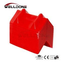 Plástico durable de la esquina de 4 pulgadas Protector V el protector de borde