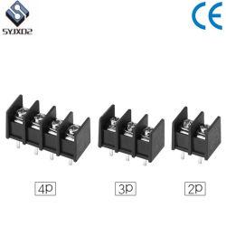 6.35mm 7.62mm 8.25mm 9.5mm 10.0mm schwarze Sperren-Klemmenleisten für Schaltkarte-Energie