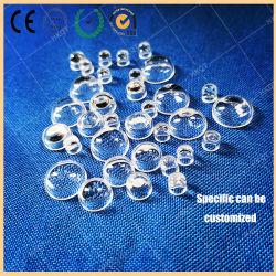 석영 유리 렌즈 UV LED에 의하여 포장되는 유리제 렌즈