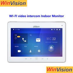 10inch de bouw van de Draadloze IP van de Lange Waaier WiFi Video BinnenMonitor Vth5241dw van Dahua van het Systeem van de Intercom