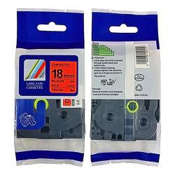 Compatível P Impressora Toque 18 mm Tze 441 fitas de Rótulo Fitas laminado/ Fita para o Irmão