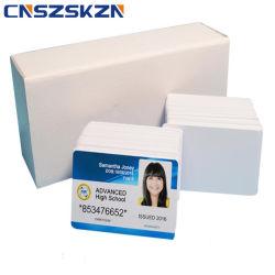 Epson L1800 인쇄할 수 있는 Cr80 백색 공백 잉크 제트 PVC 카드