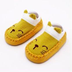 공장 도매 주문 유지 따뜻한 아기 워커 신발 편안한 아기 코튼 신발