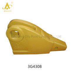 3G4308/3G4309 Caterpillar J300 la mano derecha/izquierda Adaptador de cargador de la esquina 1 tornillo, maquinaria de construcción, piezas de repuesto y de la excavadora de la Cuchara el adaptador y el diente
