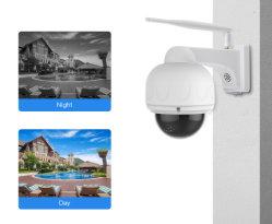 lautes Summen IP66 der IP-1080P Kamera-4X imprägniert im FreienWiFi Kamera-Selbstfokus PTZ CCTV-Kamera-Überwachung-Überwachungskamera IR-Nacht