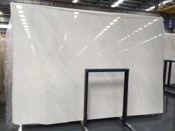 新しいYunfuは氷の床タイルのための純粋で白いヒスイの大理石のタイルに大理石模様をつける