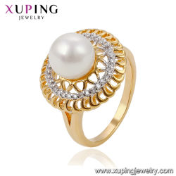 Commerce de gros doigt Big Pearl anneau le plus récent