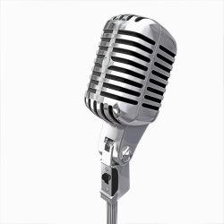 De Microfoon van de Condensator van de Opname Microfone van het metaal USB