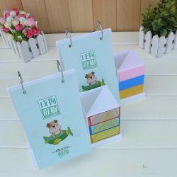 La vente en gros acrylique coloré de calendrier avec porte-stylet