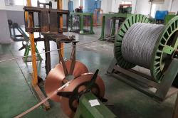 Revestimento Tube-Weld 40%Sigc Alta Resistência 7/AWG (4-12) cobre folheados ou chapeados de tira de aço CCS do Fio