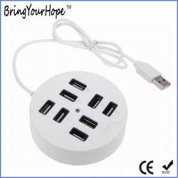 Intorno 8 al mozzo del USB 2.0 delle porte (XH-HUB-010)