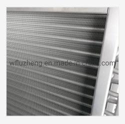 Edelstahl-Flosse-Gefäß-Wärmetauscher, rostfreie Blatt-oder Aluminium-Blatt-Fassbinder-Gefäß-Luft-Kühlvorrichtung