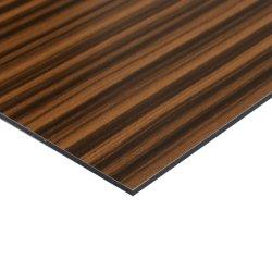 عالة [0.5مّ] خشب نسيج بناية جدار [كلدّينغ بنل] ألومنيوم صف