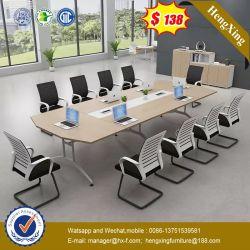 La norme ISO9001 Pushable Maple Lacqure Unique Conference Desk (HX-9S349)