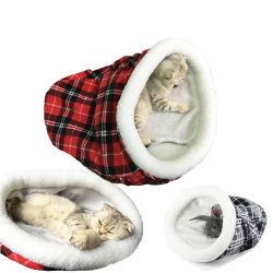Grille Tunnel Pet Classique Lits Cat sacs de couchage chaud