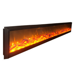 Feu flamme artificielle cuisinière électrique 220V foyer encastrable