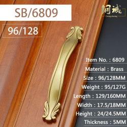 キャビネットのハンドルのための真鍮の銅の現代家具のハードウェアのアクセサリ