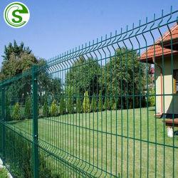 Sicherheits-schweres Anzeigeinstrument schweißte Maschendraht-Zaun-Panel-Entwurfs-das dekorative Garten-Fechten