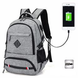 새로운 옥외 여가 USB 비용을 부과 운반 책가방 여행 학교 부대